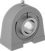 Permanently Lubricated Washdown Compact-Base Mounted Ball Bearings