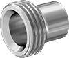 High-Polish Gasket Fittings for Stainless Steel Tubing