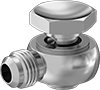 Tight-Space 37° Flared Fittings for Steel Tubing
