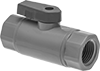 Compact Plastic Threaded On/Off Valves