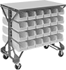 Bench-Height Bin-Box Racks