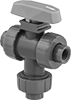 Easy-to-Install Threaded Diverting Valves for Chemicals
