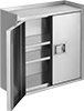 Harsh Environment Wall-Mount Shelf Cabinets