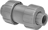 Easy-to-Install Threaded Check Valves for Harsh Chemicals