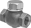 High-Temperature Threaded Check Valves for Oil and Fuel