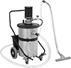 Hazardous Location Air-Powered Wet/Dry Vacuum Cleaners