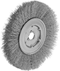 Low-Scratch Wheel Brushes