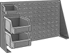 Design-Your-Own Static-Control Tabletop Bin-Box Racks