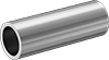 Standard-Wall Aluminum Unthreaded Pipe