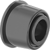 Self-Aligning Dry-Running Flanged Sleeve Bearings