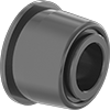 High-Speed Self-Aligning Dry-Running Flanged Sleeve Bearings