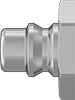 Snap-Tite H-Shape Quick-Disconnect Hose Couplings for Hydraulic Fluid