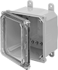 Versa-Mount Submersible Enclosures with See-Through Cover