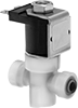 Food Industry Solenoid On/Off Valves with Push-to-Connect Fittings
