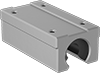 High-Load High-Speed Mounted Linear Sleeve Bearings for Support Rail Shafts