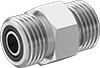 O-Ring Face Seal Fittings for Stainless Steel Tubing