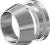 Front and Back Sleeves for Acid-Resistant Yor-Lok Fittings for Nickel Alloy Tubing