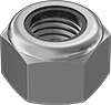 Super-Corrosion-Resistant 316 Stainless Steel Nylon-Insert Locknuts