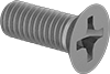 Metric Titanium Phillips Flat Head Screws