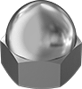 18-8 Stainless Steel Cap Nuts