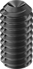 Mil. Spec. Alloy Steel Cup-Point Set Screws