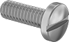 Brass Pan Head Slotted Screws