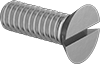 Brass Slotted Flat Head Screws