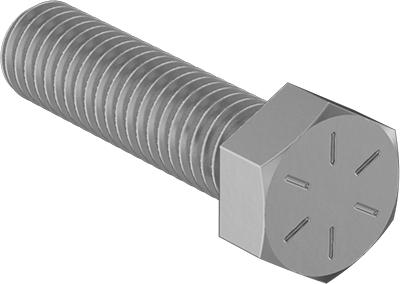 Thread Size 1//2-13 316 Stainless Steel Ultra-Low-Profile Socket Head Screw