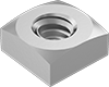Super-Corrosion-Resistant 316 Stainless Steel Square Nuts