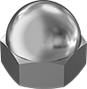Super-Corrosion-Resistant 316 Stainless Steel Cap Nuts