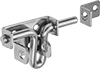 Easy-Grip Lift-and-Drop Barrel Padlockable Slide-Bolt Latches