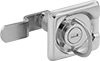 Recessed Ring-Handle Keyed Cam Locks