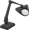 Enhanced-Visibility LED Weighted-Base Workstation Magnifiers