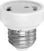 Twist-and-Lock Socket Adapters for Medium Screw-In Sockets