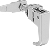 Lift-and-Turn Tight-Hold L-Handle Cam Latches