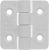 Plastic Hinges with Holes