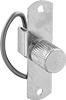 Spring-Cam Knob Latches