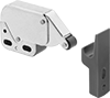 Push-to-Open Roller Latches