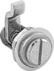 Adjustable-Tension Tight-Hold Slotted-Drive Cam Locks