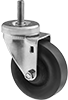 Threaded-Stem Casters with Nylon Wheels
