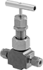 Precision Flow-Adjustment Valves with Yor-Lok Fittings for Chemicals