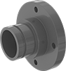 Easy-Access CPVC Pipe Flanges for Chemicals