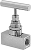 High-Pressure Threaded Precision Flow-Adjustment Valves for Steam
