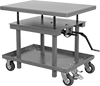 Hand-Crank Mobile Lift Tables