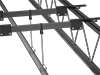 Suspension Beams for Threaded Rod