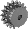 Sprockets for Double-Strand Metric Roller Chain