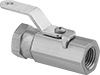 High-Pressure Compact Threaded On/Off Valves