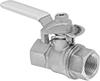 Flow-Indicating Threaded On/Off Valves