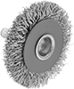 Low-Scratch Wheel Brushes with Shank