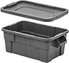 Food Industry Nestable Plastic Tote Boxes